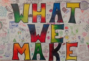 #whatimake mural