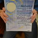 Steven's Watercolor Poem