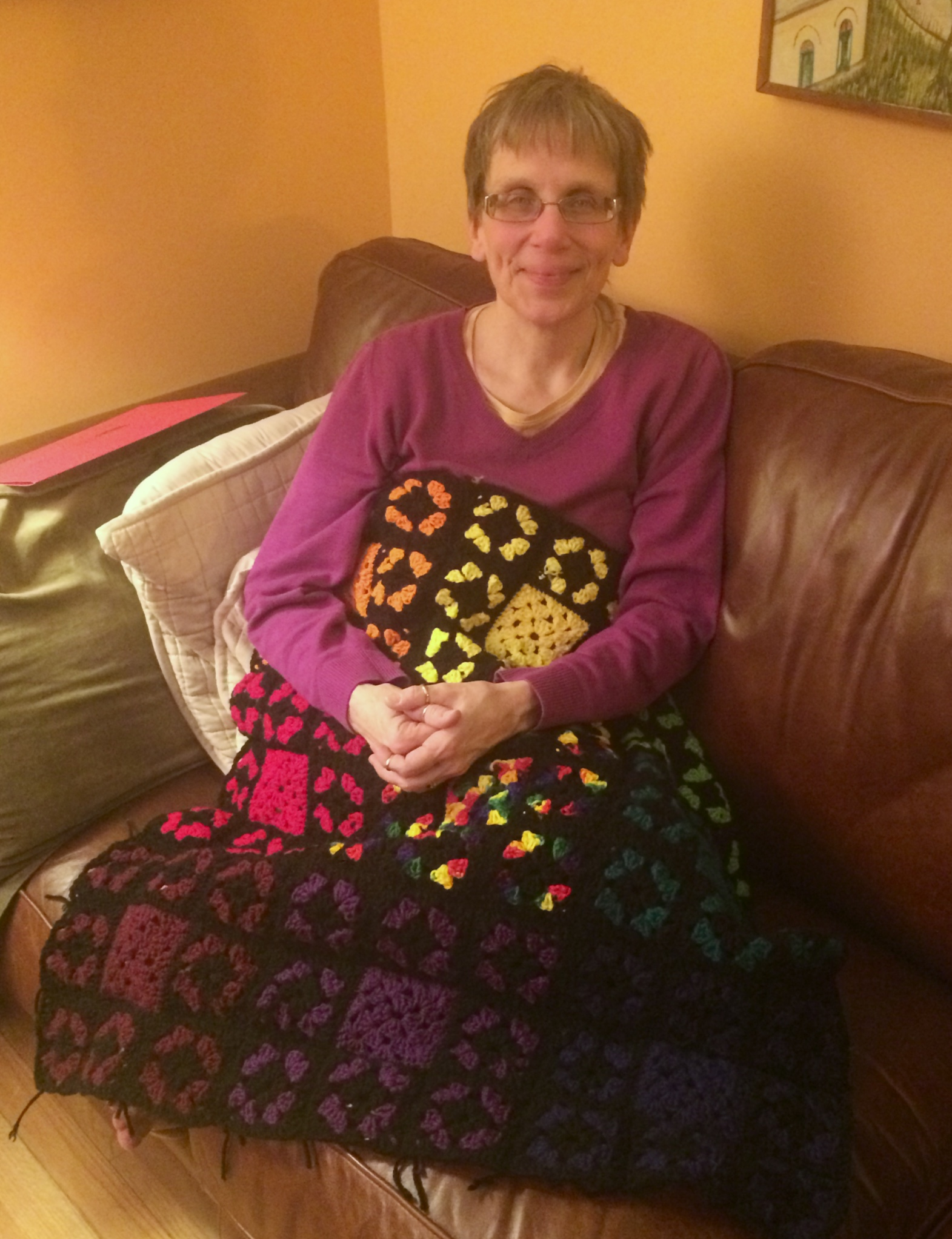 Watch Mom In Bedroom Camera: Grieving Through Granny Squares
