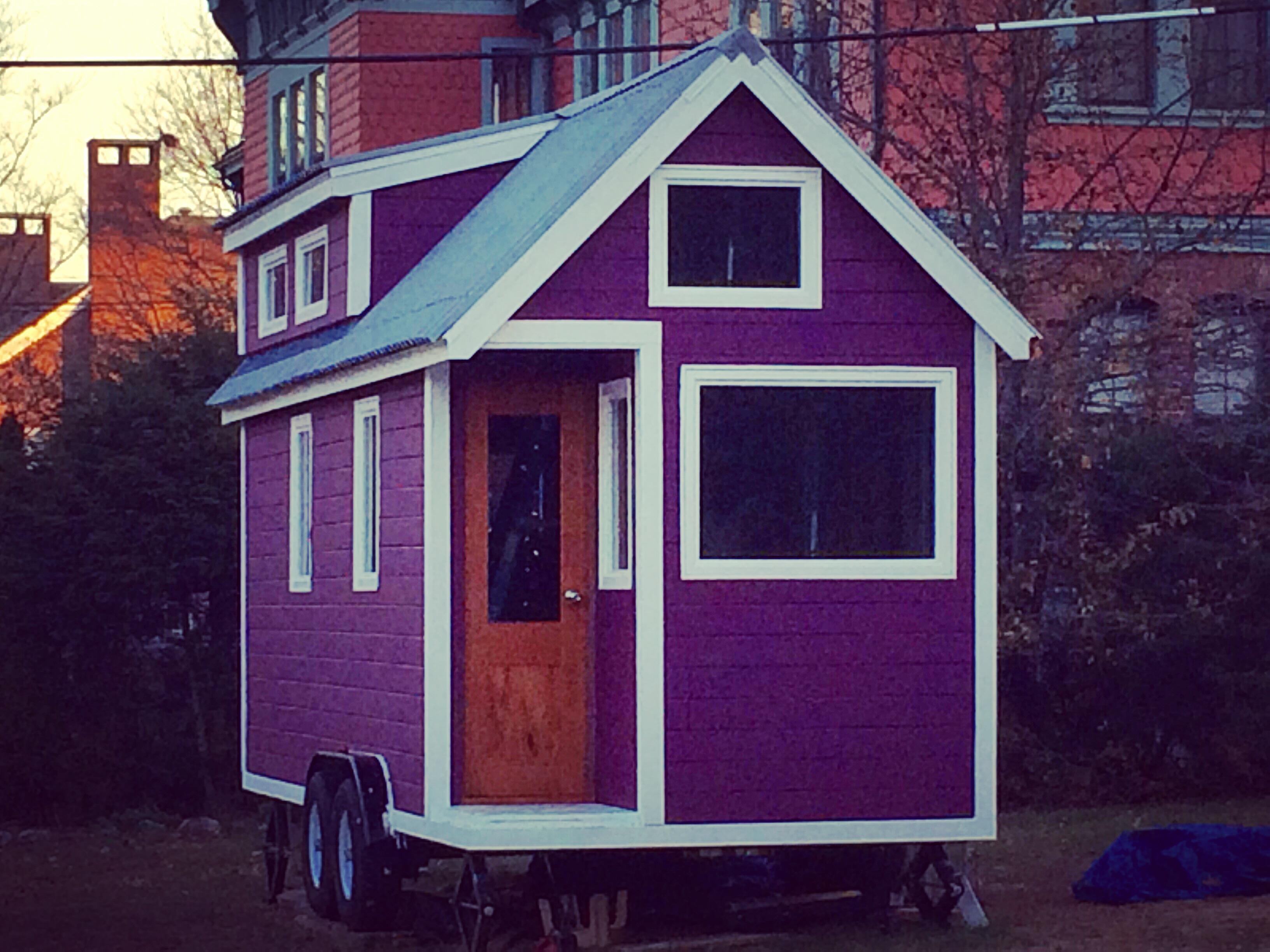 BIG Art; Tiny House | Miranda's Hearth