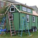 BIG Art; Tiny House Post No. 11 – Dormer Windows and Outriggers