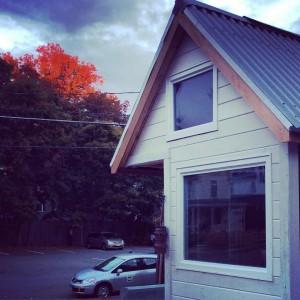 tiny house siding