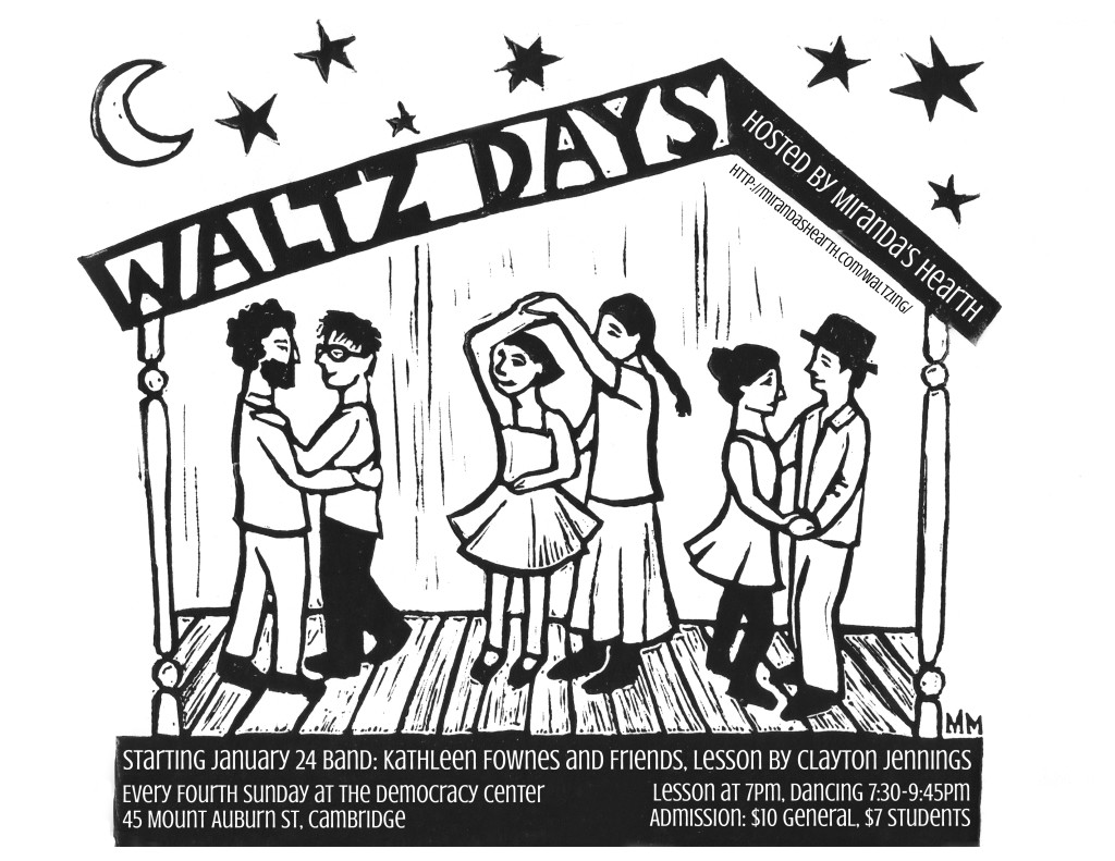 Waltzdays @ The Democracy Center | Cambridge | Massachusetts | United States
