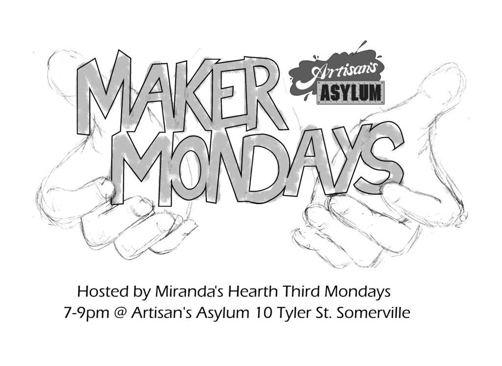Maker Mondays @ Artisan's Asylum | Somerville | Massachusetts | United States