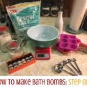 Gift Idea: How to Make Bath Bombs!