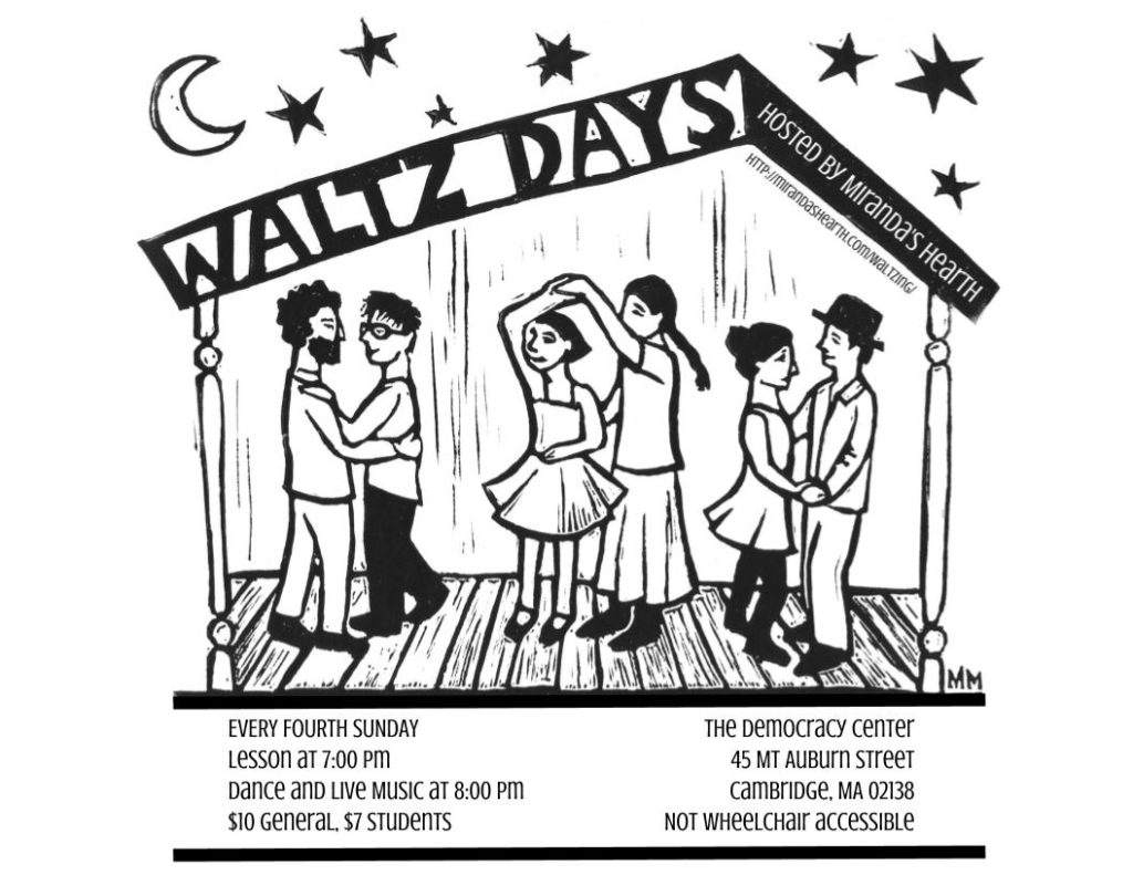 Waltzday Flyer 2017, Horizontal