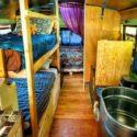 Kat Mondieu's Converted School Bus